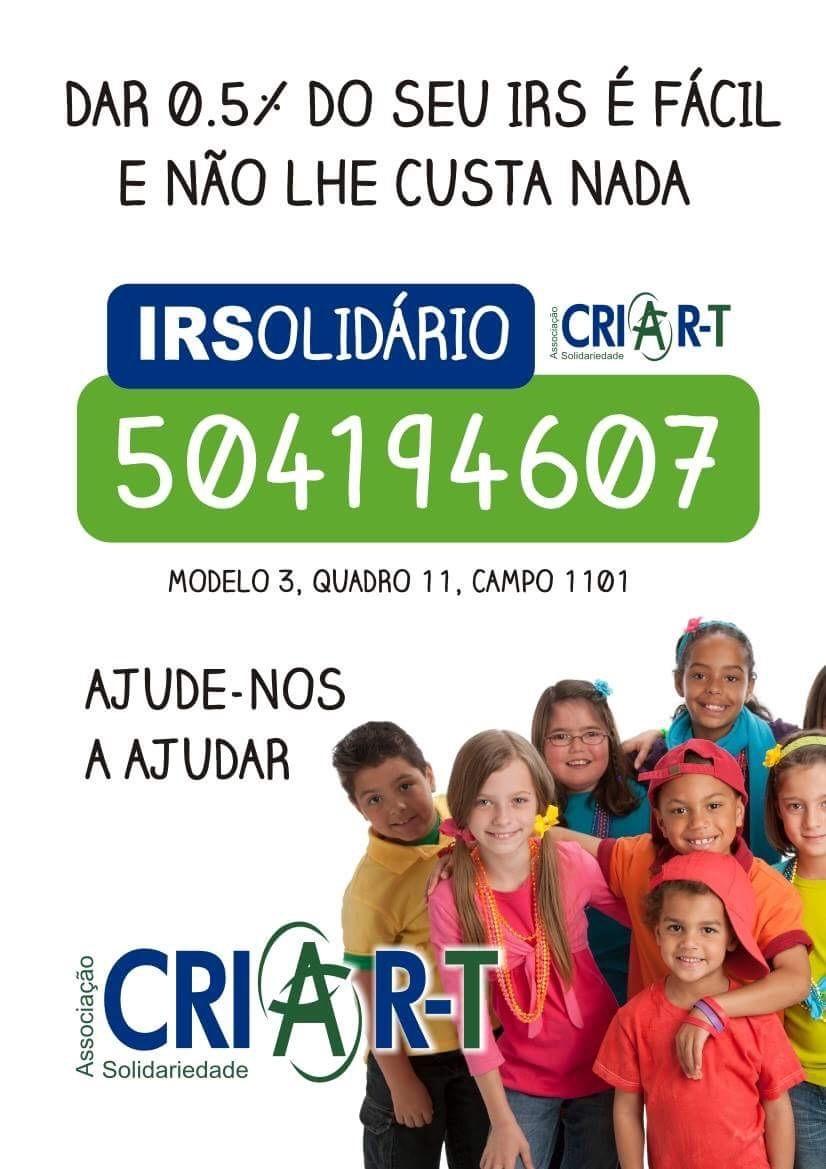 Criar T IRS Solidario